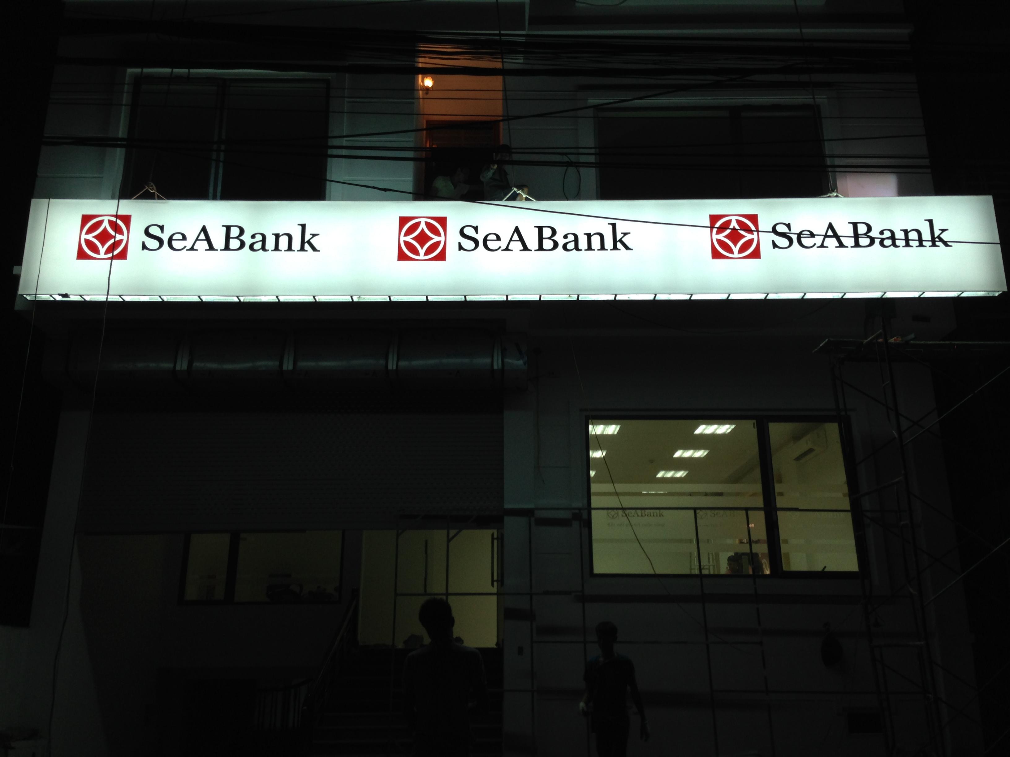 Biển hộp đèn ngân hàng SeABank