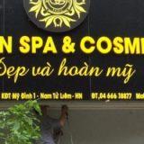 Thiết kế thi công biển quảng cáo thẩm mỹ viện- Spa